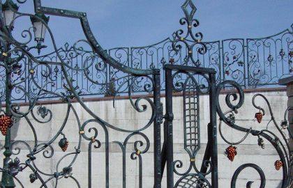 Fer forgé, portails