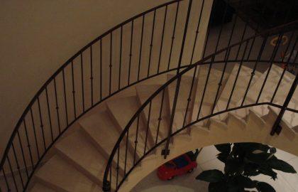 Escaliers, métallerie, rampes